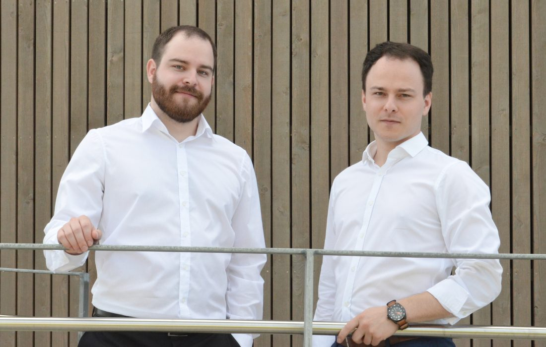 Sascha Rudolph and Sven Rudolph joining the Social Impact Lab Incubator in Stuttgart